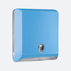 DISPENSER TOALHAS ABS MG-103 BLUE - SÉRIE LUXO ABS COLOR - ZIG ZAG