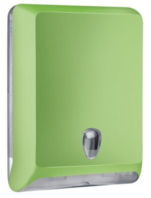 DISPENSER TOALHAS ABS MG-103 GREEN - SÉRIE LUXO ABS COLOR - ZIG ZAG